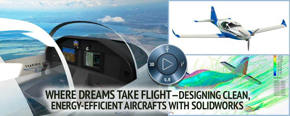 Designing Clean Aircrafts with SOLIDWORKS