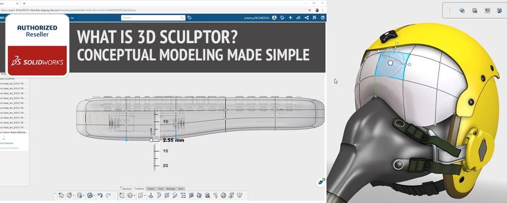 What is 3D Sculptor? Conceptual Modeling Made Simple
