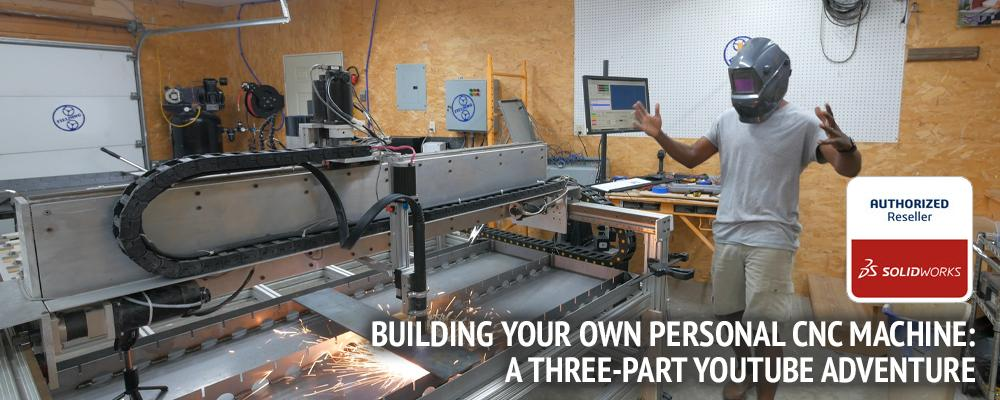 Building Your Own Personal CNC Machine: A Three-Part YouTube Adventure