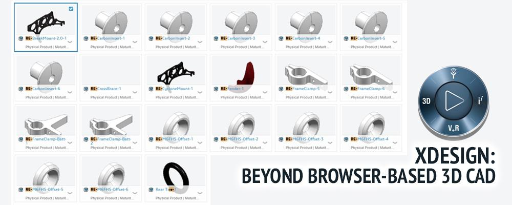 xDesign: Beyond Browser-Based 3D CAD