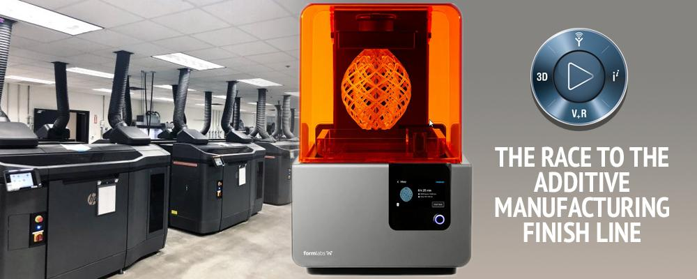 The Race to the Additive Manufacturing Finish Line