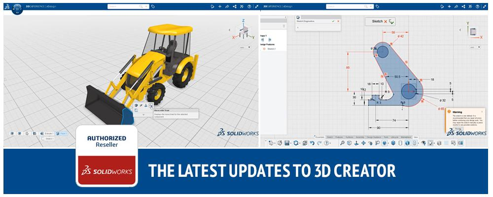 The Latest Updates to 3D Creator
